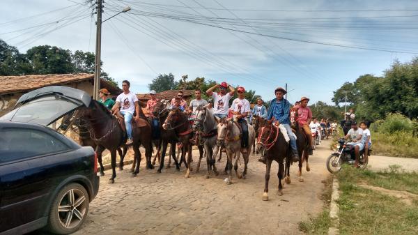 Cavalgada dos amigos vaqueiro do jacaré