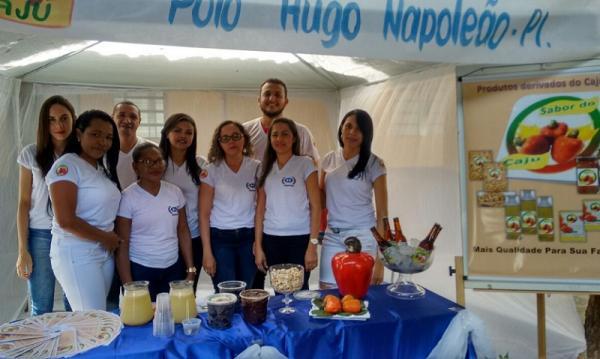 Workshop com alunos de Administração é realizado no Polo da UAPI de Hugo Napoleão