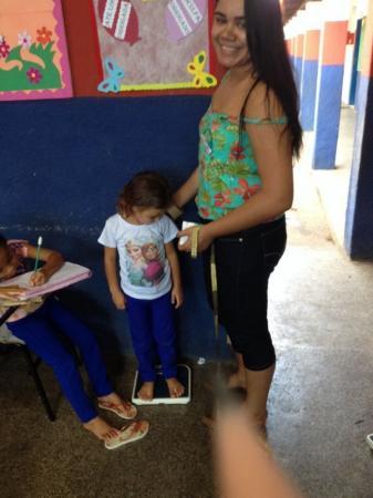 Atividades do Programa Saúde na escola são desenvolvidos em Agricolândia