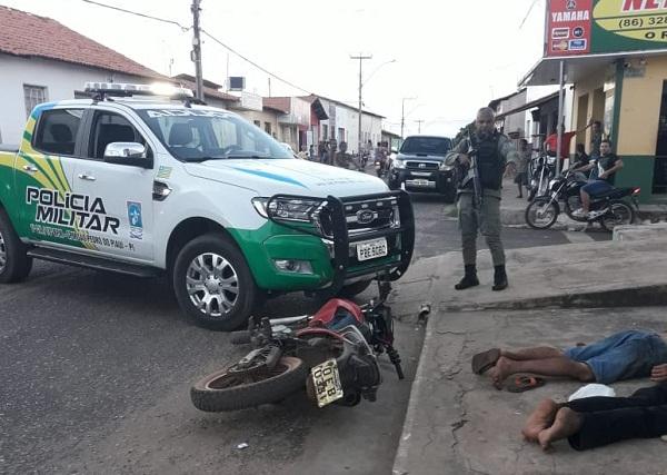 Polícia prende dupla suspeita de assaltos na região do Médio Parnaíba