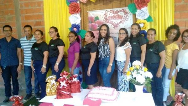 Assistência Social realiza Festa para as Mães do SCFV em Hugo Napoleão