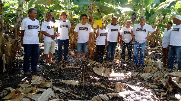 Agricultores de Agricolândia recebe curso sobre práticas e manejo em sistema de irrigação por aspersão e gotejamento