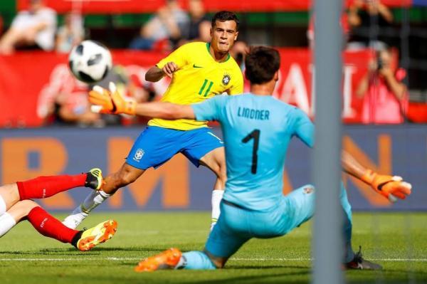 Brasil vence a Áustria por 3 x 0, no último amistoso antes da Copa