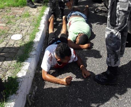 Troca de tiros na zona Norte termina com suspeito morto e três presos