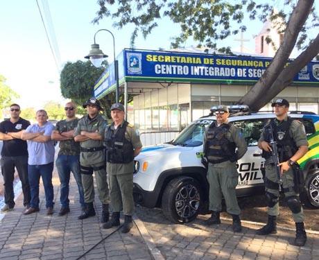 Polícia inicia operação 'Copa Saci' com centro integrado na Zona Sul de Teresina