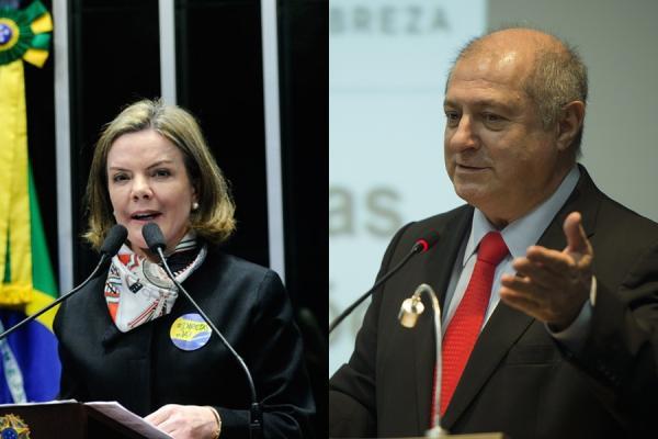 Senadora Gleisi Hoffmann e Paulo Bernado são absolvidos pelo STF