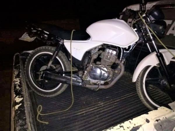 Força Tática prende Homens suspeitos de roubo de moto em Regeneração