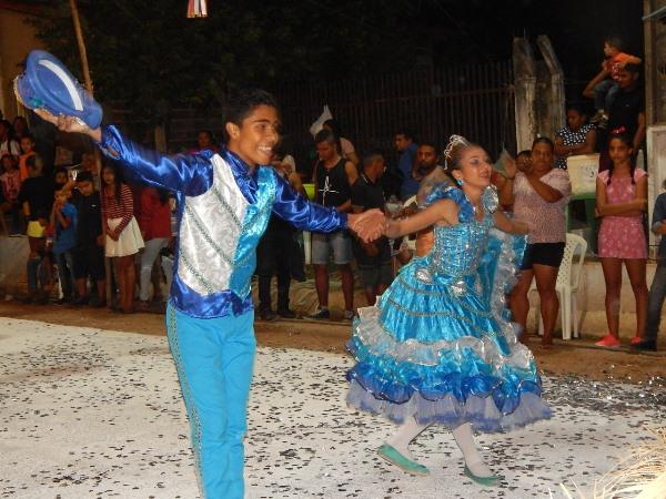 Quadrilha Machuquinha participa do 1º Festival do Paraíso na cidade de Miguel Leão