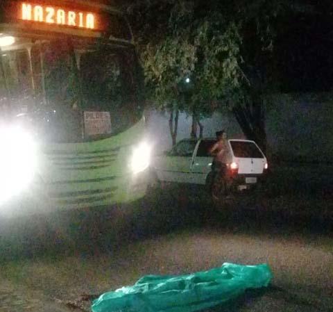 Homem é atropelado por ônibus na zona Sul e motorista foge