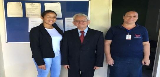 O Presidente do TRE-PI continua o projeto de visitas aos cartórios eleitorais do interior do Estado