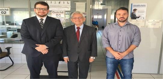 Presidente do TRE-PI visitou os cartórios eleitorais de Água Branca, São Pedro, São Gonçalo e Angical