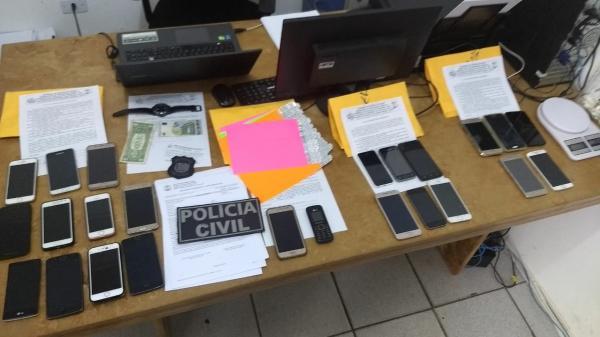 Quadrilha especializada em roubo de celulares é presa em festival
