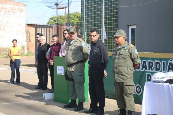 18º Batalhão da Polícia Militar do Médio Parnaíba recebe nova viatura