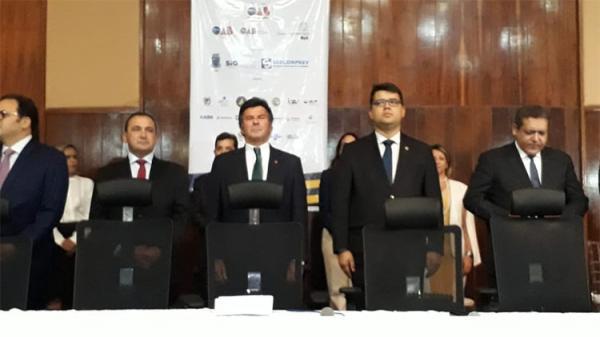 No Piauí, ministro Fux evita comentar candidatura de Lula