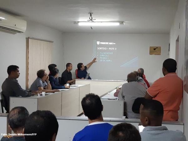 FFP realiza sorteio dos grupos do Piauiense Sub-17