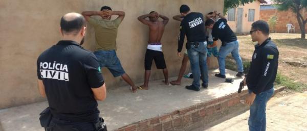 """Polícia Civil de Piripiri prende sete assaltantes e elucida latrocínio em """"Operação Rapina"""""""