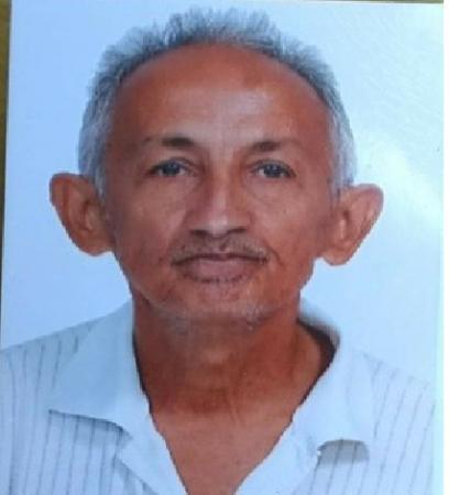 Família pede ajuda para encontrar senhor de 60 anos desaparecido em Lagoinha do Piauí