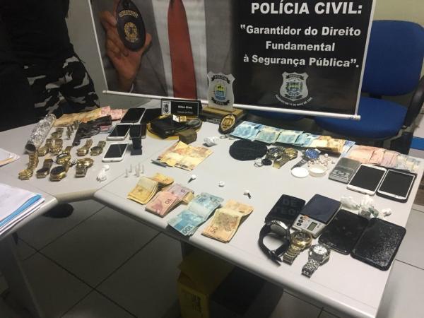Operação 'Mercador II' contra o tráfico de drogas prende 5 pessoas em Oeiras