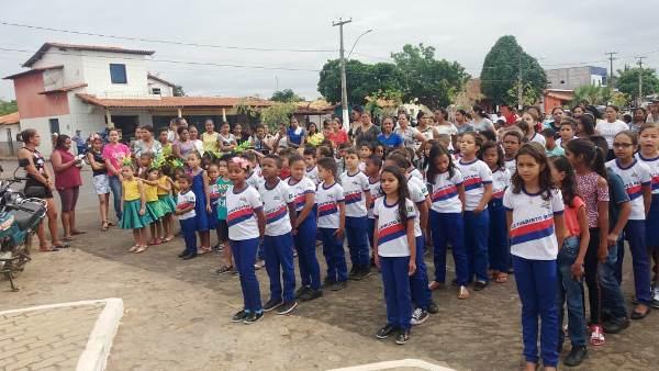 Em Agricolândia a independência do Brasil é lembrado em grande evento