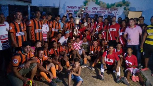 Final do Campeonato de Futebol 2018 da cidade de Hugo Napoleão