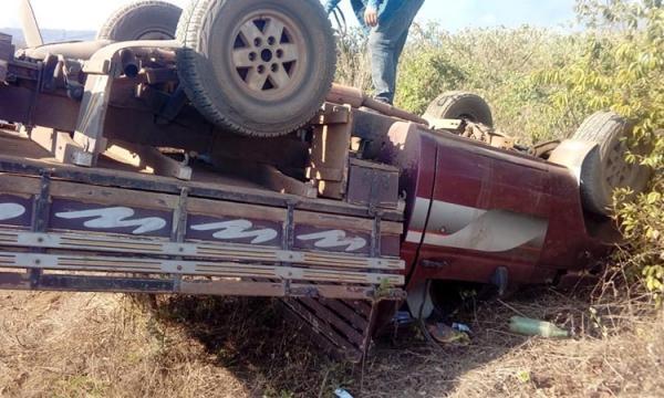 Carro capota e criança de nove anos morre em Agricolândia