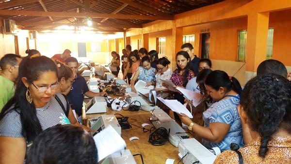 Mesários de Agricolândia que vão atuar nas eleições 2018 participam de treinamento