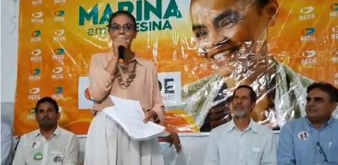 Marina Silva visita Teresina e lança programa de poupança de R$ 3,7 mil para jovens