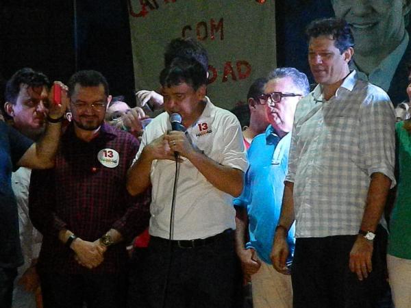 Candidato a Presidente Fenando Haddad participou de comício em Picos