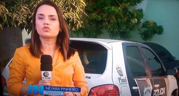 Jornal Nacional mostra falta de combustível em viaturas da Polícia no Piauí