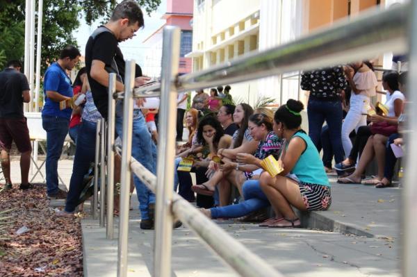 PI tem 97 mil disputando vagas nas universidades, Segundo dia do Enem 2018