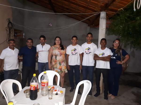 Vereador Waldir Pereira recepcionar equipe campeã da Escola CETI joão ferry de Agricolândia
