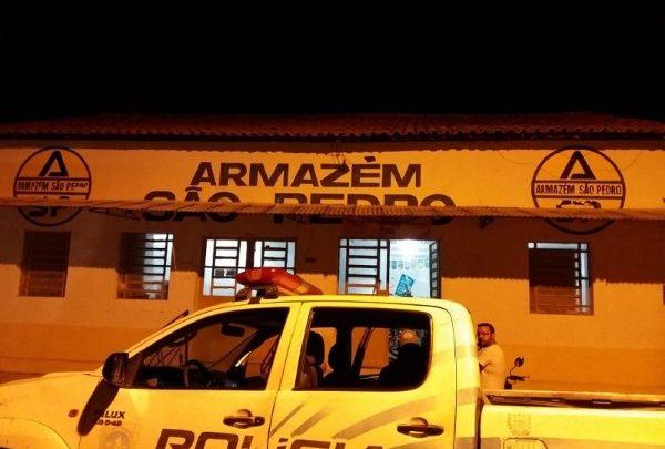 Loja é arrombada durante a madrugada de sexta em São Pedro do Piauí