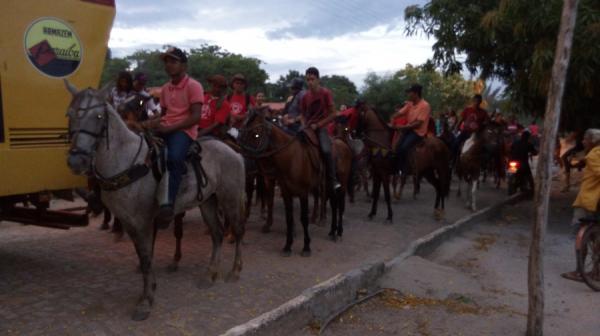 Cavalgada Comunidade Baixinha município de São Gonçalo do Piauí