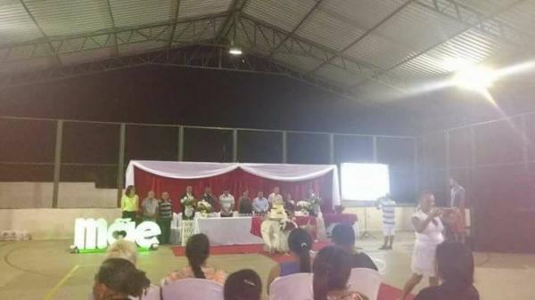 Festa em homenagem as mães dos alunos do pelotão mirim  de Barro Duro