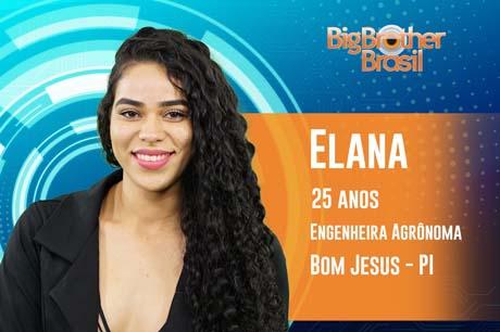 Piauiense de 25 anos, Elana Valenária é a nova participante do BBB 19