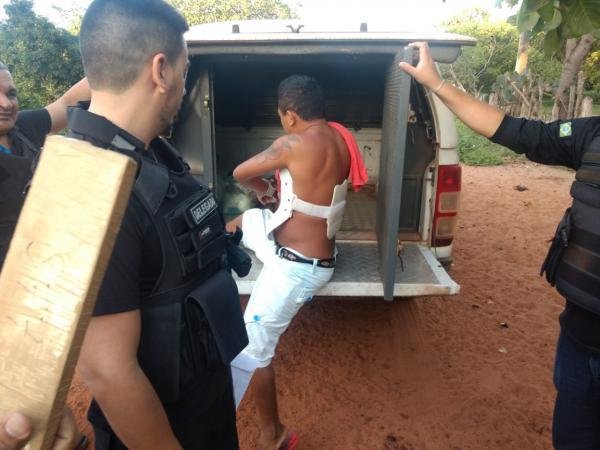 Operação policial apreende arma e drogas no interior do Piauí