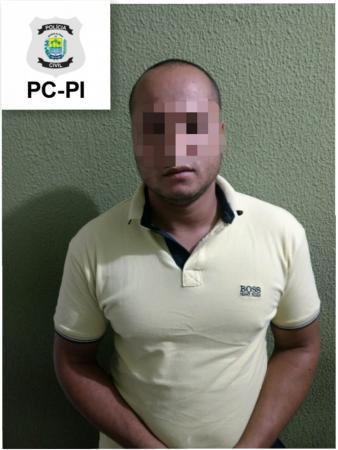 Polícia civil cumpre mandado de prisão de envolvido em assalto na cidade de Piripiri