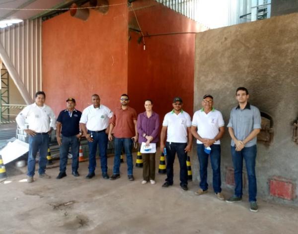 Promotora de Justiça de Regeneração acompanha incineração de drogas apreendidas no município
