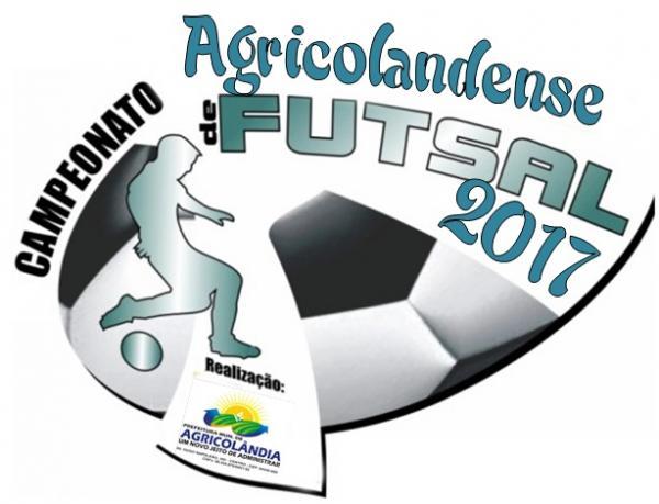 Campeonato de Futsal começa nesta sábado em Agricolândia