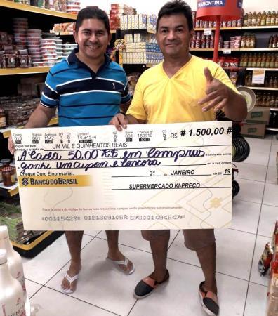 Confira o ganhador da Promoção do Supermercado KI – PREÇO