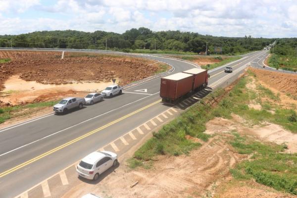 Após seis anos de obras, rodoanel é inaugurado e deve retirar 5 mil veículos da zona urbana de Teresina