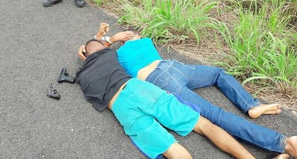 PM prende suspeitos de assalto em cidades do Médio Parnaíba