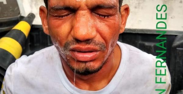 Homem é preso suspeito de arrombar residência na cidade de Amarante (PI)