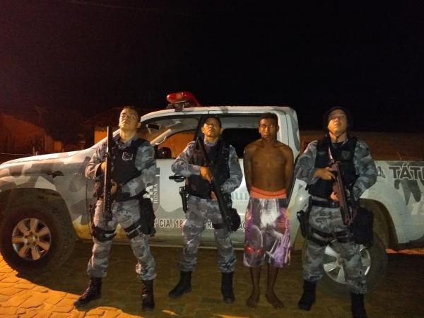 Em Amarante a Polícia Militar cumpre mandado e prende homem