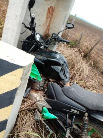 Motociclista morre ao se chocar em poste na PI em São Pedro do Piauí