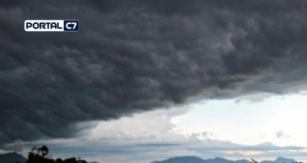 Amarante e 223 Municípios está sob alerta para tempestade de raios e vendaval