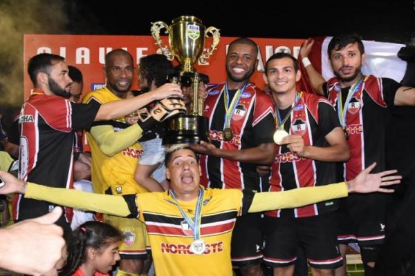 River-PI se consagra campeão piauiense de 2019 e chega a seu 31º título