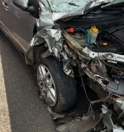 Grave acidente na BR 343 entre São Pedro e Água Branca deixa vítima fatal