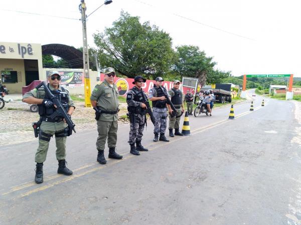 Polícia Militar deflagra Operação Tiradentes III em todo o Piauí