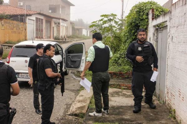 Operação policial em 17 municípios do Piauí prende 60 suspeitos de crimes